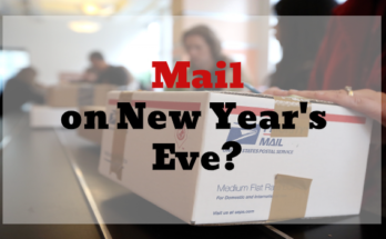 Mail on New years Eve